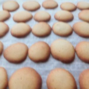 卵白でクッキー作り!!