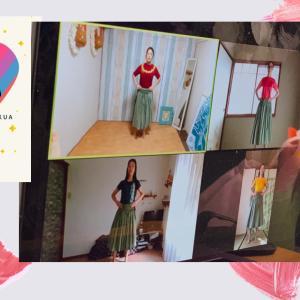 【オンライン】今日のZOOMで踊るフラレッスン