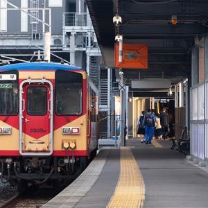 12年ぶりに乗車したのは「赤パンツ」色復刻車でした♪ 島原鉄道キハ2500形・2550形 #12