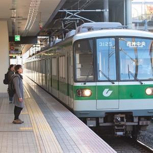 この1本だけですが(苦笑) 神戸市営地下鉄3000形