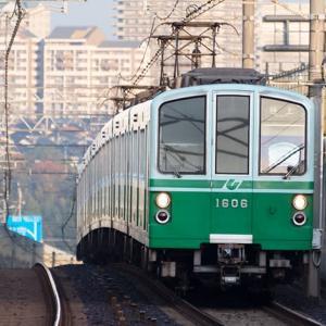 今回は3本ほど遭遇出来ました♪ 神戸市営地下鉄1000形 #2