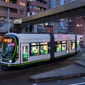 結構な頻度で見かけました…全く乗れんかったけど(笑) 広島電鉄1000形 #6