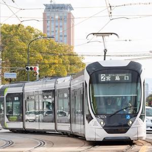 10ヶ月前に新系列がデビューしてたなんて(苦笑) 広島電鉄5200形