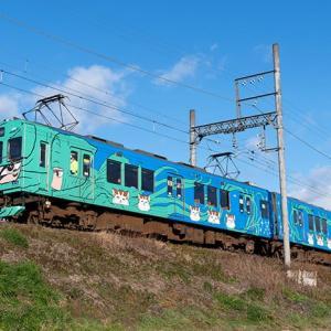 忍者電車らしいです。 伊賀鉄道200系