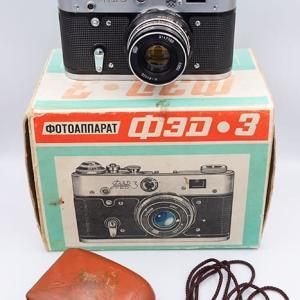 EBayでモスクワオリンピックモデルのFED-3を購入してみた