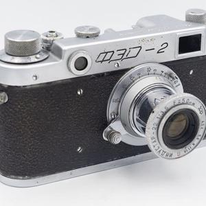 eBayで1956年製のFED-2 Type-B(もしくはType-A)を購入