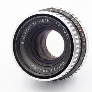 eBayでCarl Zeiss Jena BIOMETAR 80mm F2.8を購入した