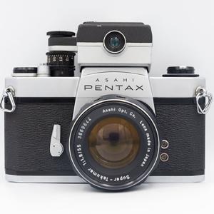 ヤフオクでPENTAX SL + Super-Takumar 55mm F1.8を購入♪