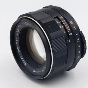 続・ヤフオクでPENTAX SL + Super-Takumar 55mm F1.8を購入♪
