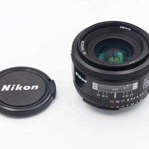 ヤフオクでAF NIKKOR 28mm F2.8sを購入