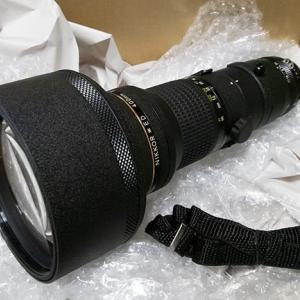 ヤフオクでAi 400mm F3.5sを衝動買い(苦笑)
