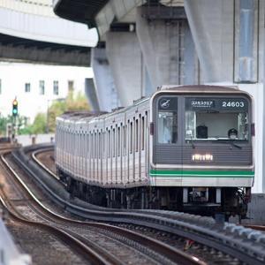 今回は余りご縁が無かった様で。 大阪メトロ新20系