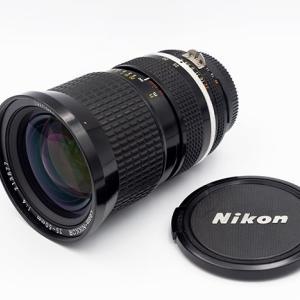 ヤフオクでAi Zoom Nikkor 25-50mm F4sを衝動買い(苦笑)