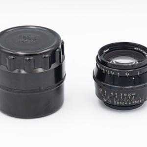 eBayでLマウントのJupiter-8 50mm F2を購入。