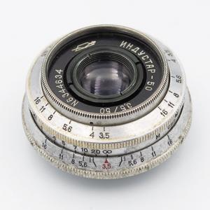 銀色のパンケーキ、INDUSTAR-50 50mm f3.5を買ってみたものの(苦笑)