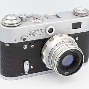 eBayで1968年製FED-3+INDUSTAR-26M 50mm F2.8を購入。