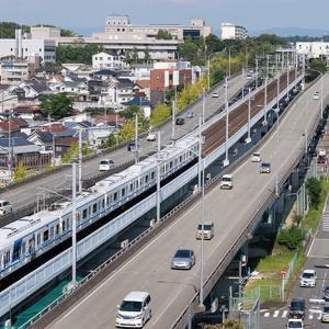 「赤い橋」から撮ってみた♪ 泉北高速鉄道7000系 #2