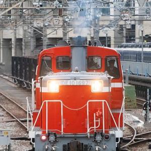 東日本所属機も1600台も初めてです♪ DE10 1697