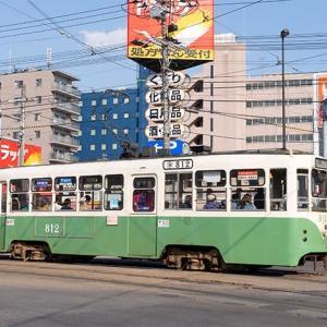 「笹色ツートン」がいいですな♪  函館市電800形
