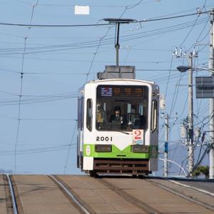 一応、2両とも遭遇してます。 函館市電2000形