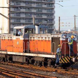元DD13 308らしいです。 名古屋臨海鉄道ND552-13