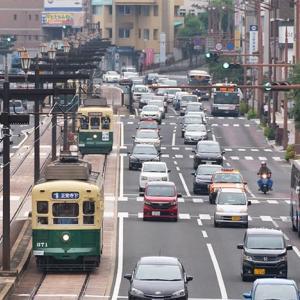 昭和37年の7をとって370形と命名された様で。 長崎電軌370形
