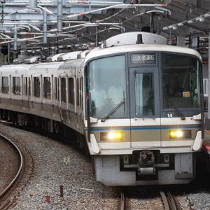 城東貨物線の保安列車もやって来ました♪ 221系 #9