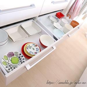 【 食器棚収納 】スッキリ見せるシンプルルール