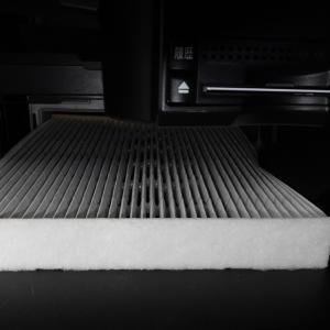 エアコンのフィルター洗浄