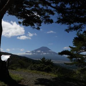 初秋の富士