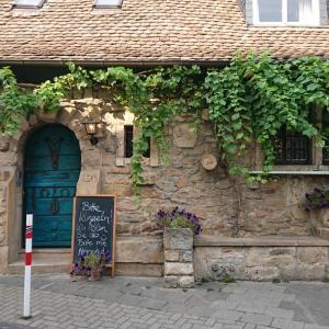 Mußbachの Eselburg でお食事