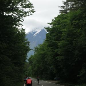 雨の富士ヒルクライム