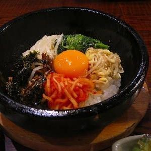 石焼ビビンバ定食@韓国食彩 にっこりマッコリ そごう千葉店