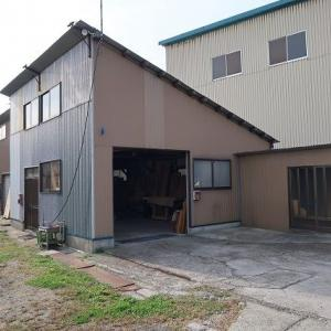 当店製作倉庫の外観内部、塗装室を掲載しました。