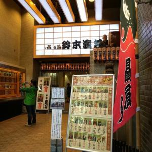 上野で落語、落語とくればビールと助六
