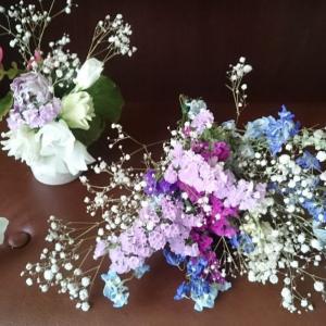 ステージを飾るお花を自分でデザインしたいと思う