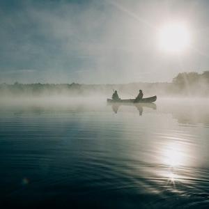 釧路川、湿原カヌー下りに挑戦