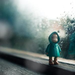暫くぶりの雨&哀しい日のピアノ