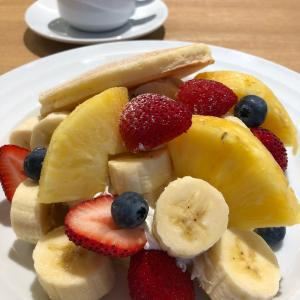 果実園リーベル【桜木町】③~フルーツ盛りすぎ?!パンケーキモーニング