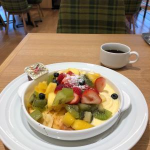 果実園リーベル【桜木町】④~フルーツもりもりフレンチトースト