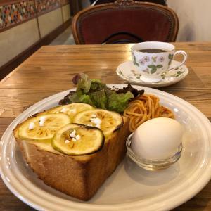 カフェトキオナ【大阪・天満】②~はちみつレモントーストモーニング