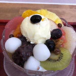 うめのま【福岡・渡辺通】~梅山鉄平食堂が手掛ける和カフェの絶品果物あんみつ