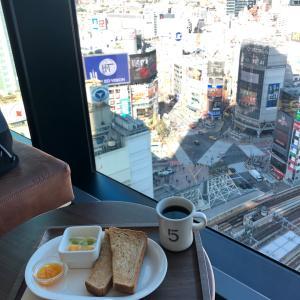 5 CROSSTIES COFFEE【渋谷】~17Fの絶景渋谷モーニング