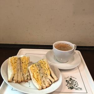 人間関係cafe de copain【渋谷】⑧~平日ランチ限定!厚焼きたまごとツナのホットサンド