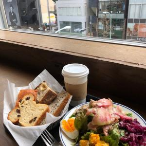 REFECTOIRE【明治神宮前】(27)~生ハムサラダとパン盛りランチ