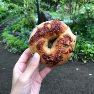 かもめベーグル【石川町】~ごまクルミクリームチーズベーグル