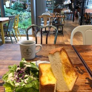 カフェコクテル堂【みなとみらい】⑦~大好き!超厚切りトーストモーニング