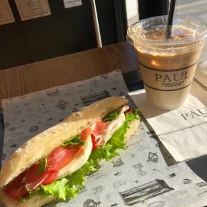 PAUL【桜木町】②~トマトモッツァレラサンドで優雅な朝