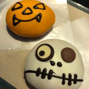 クリスピークリームドーナツ☆キュートなハロウィンジャックとブラッドスカル