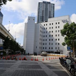 横浜駅東口にあったホテルの跡地